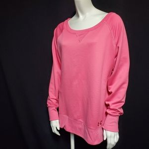 Under Armour Semi-Fitted Pink Sweatshirt